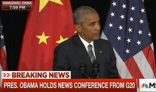 President Obama Holds Conference From G20 Summit