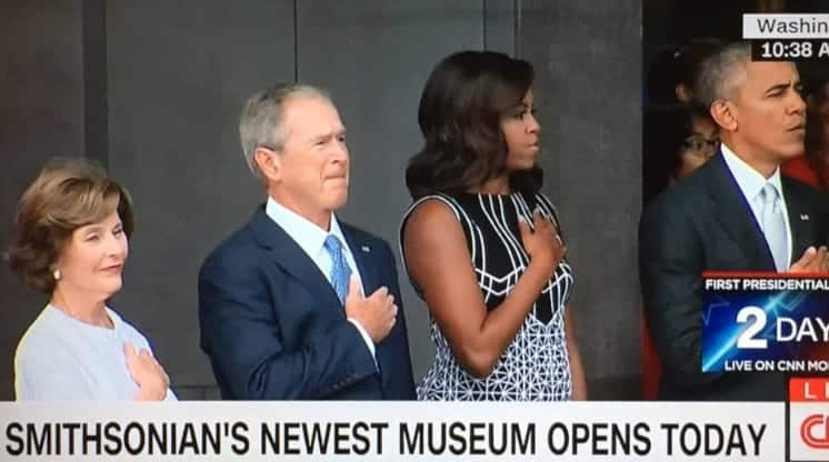 Smithsonian African American History Museum Opens In Washington D.C