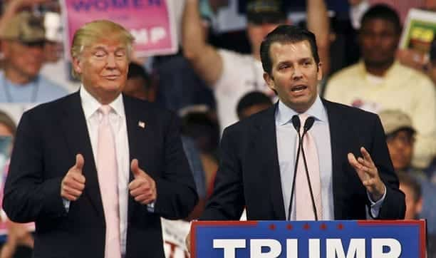 Trump Jr. Compares Syrian Refugees to Skittles