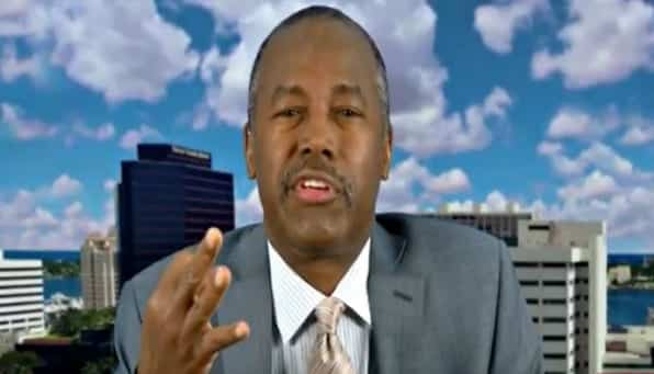Ben Carson Loses It While Bashing Trump Accusers