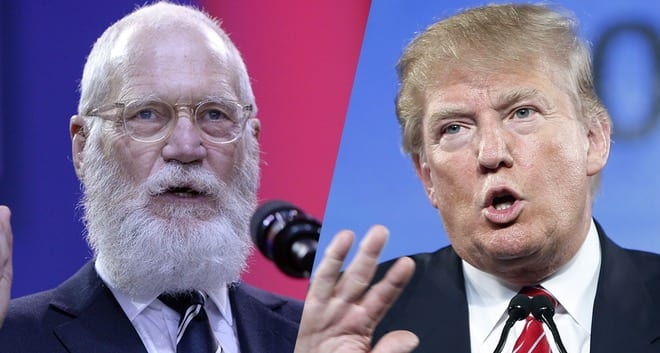 David Letterman Would Have 'Gone Right After' Trump