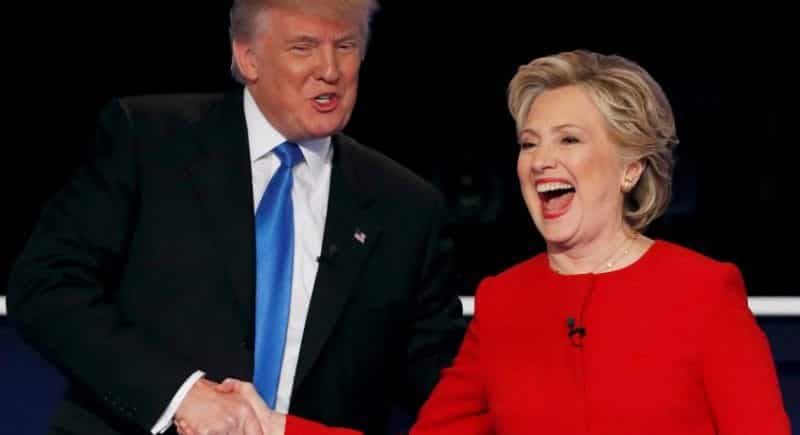 Hillary Clinton and Donald Trump Deliver Remarks at the Al Smith Dinner