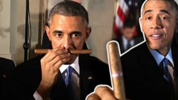 Obama Lifts Restrictions On Cuban Rum Cigars