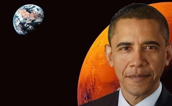 Obama We're Going to Mars by 2030s