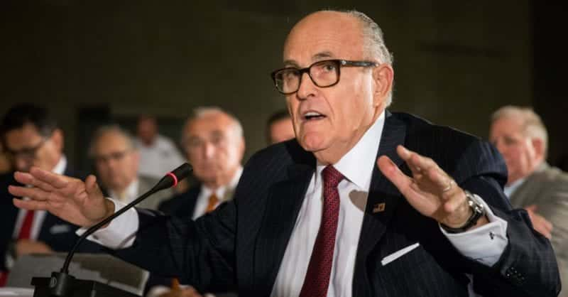 Rudy Giuliani Brags About Ties At The FBI
