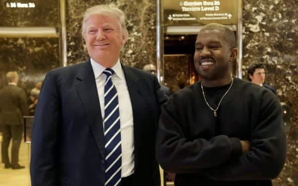 Kanye West Meets With Trump in NewYork