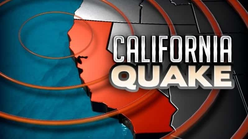 QuakeMagnitude 6.5 Reported Off Coast Of Northern California