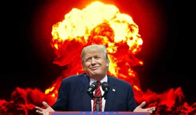 Trump To Mika On Nukes Let It Be An Arms Race' VIDEO