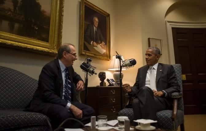 Watch Obamas Last Interview With David