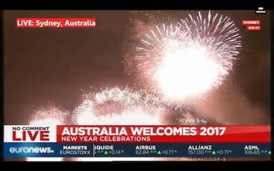 fireworks 2017 new years