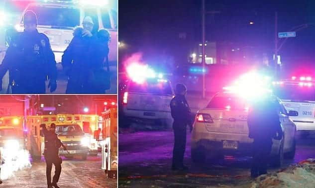 6 Killed In Shooting At Quebec City Mosque VIDEO