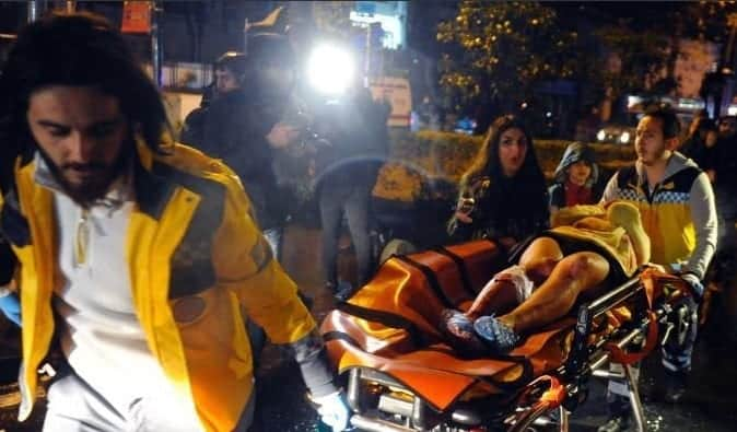 At Least 39 Killed In Istanbul Nightclub Attack VIDEO