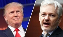 Trump Sides With Assange On Russia Hacking