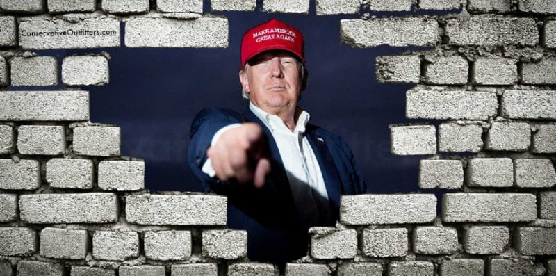 Trump Wants Congress To Fund Great WallMexico Will Pay Later