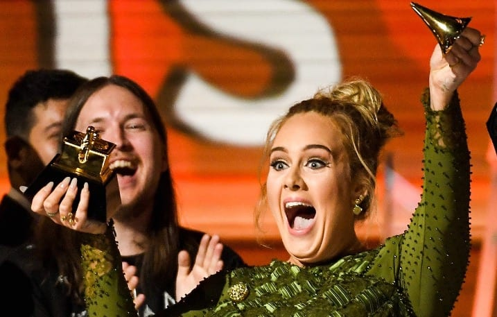 AdeleSweeps The 59th Annual Grammy Awards