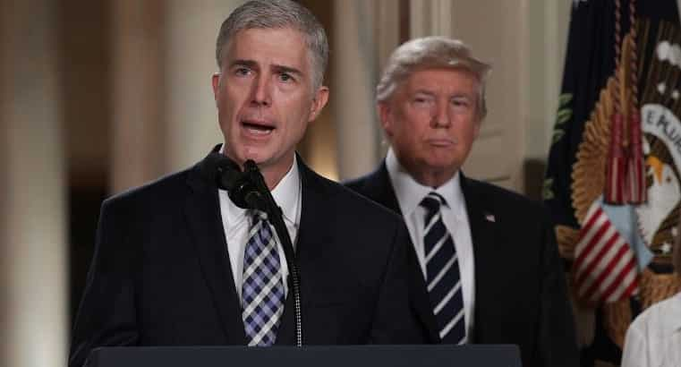 Gorsuch 'Demoralized' By Trump Bashing 'So Called Judge'