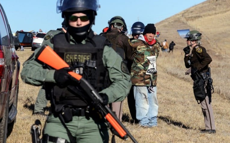 Police Remove Last Standing Rock Protesters