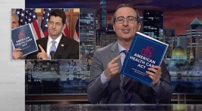 John Oliver Rips TrumpcarePeople Are Going To Be Hurt By This Bill