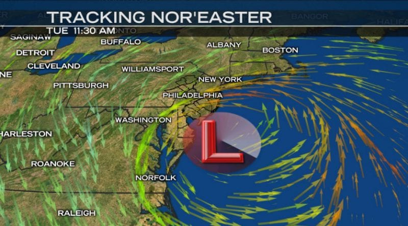 National Weather Service Warns Of Powerful Northeast Snowstorm