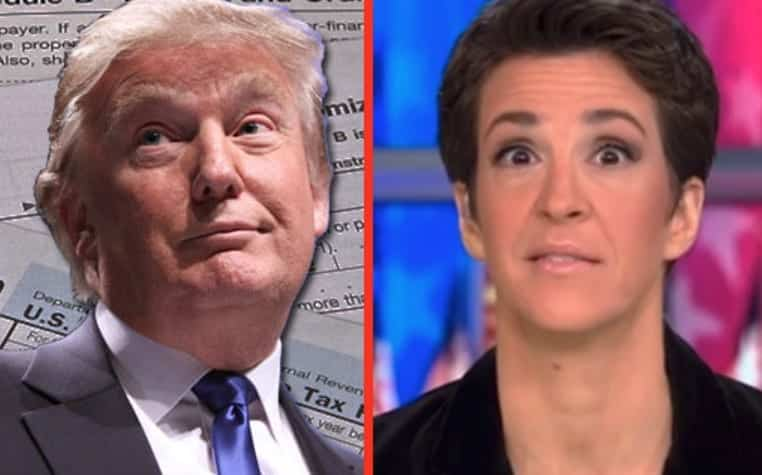 Rachel Maddow Has Trump Tax Returns Will Release Tonight. Seriously
