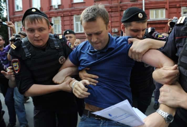 Russian Opposition Leader Alexei Navalny Gets 15 Days In Jail