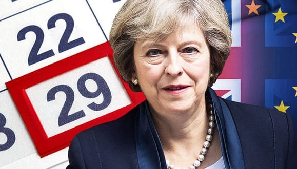 Theresa May To Trigger Article 50 On 29 March