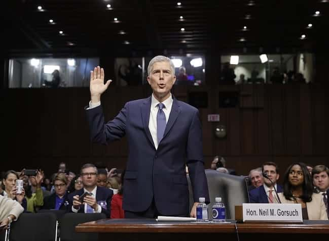 Senate Judiciary Committee To Vote On Gorsuch Nomination