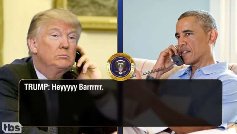 Trump Calls Obama To Talk About Syria Afghanistan VIDEO 1