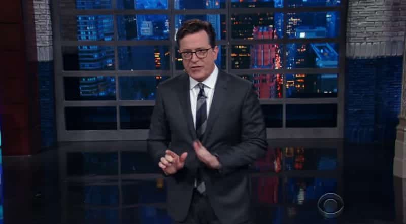 Colbert Even Comeys Firing Was All About Trump VIDEO
