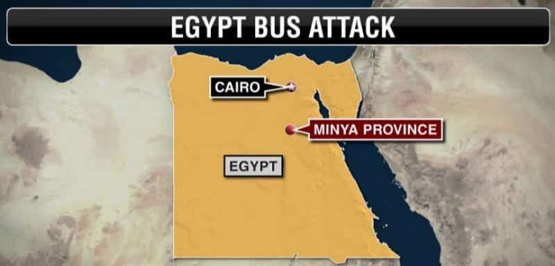 Gunmen In Egypt Attack Bus Carrying Coptic Christians Killing At Least 20