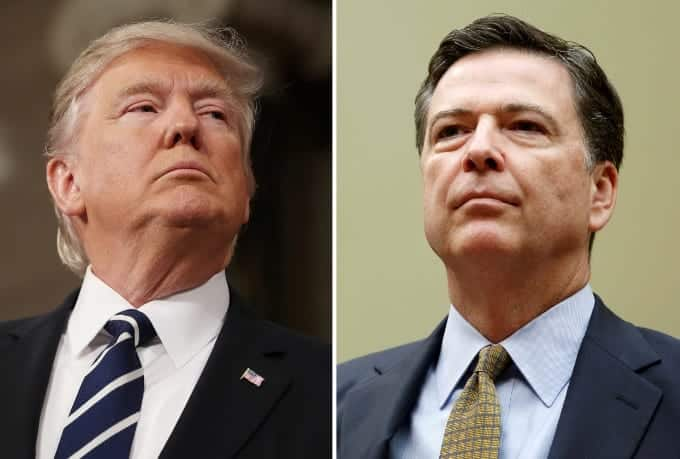 ReportTrump's Fury Over Russia Probe Led To Comey Firing