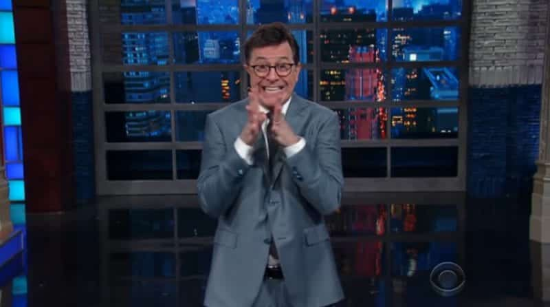 Stephen Colbert Repond To Trump Calling Him A No Talent Guy 1