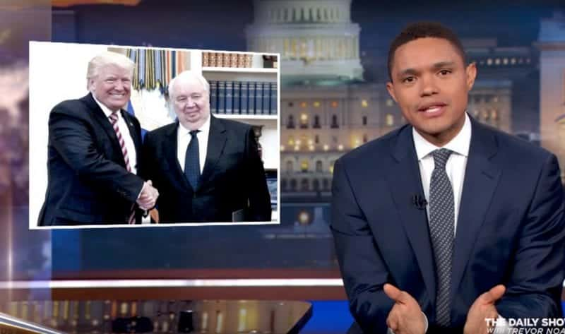 Trevor Noah Rips Trump For Reveailing Highly Classified Intel To Russians