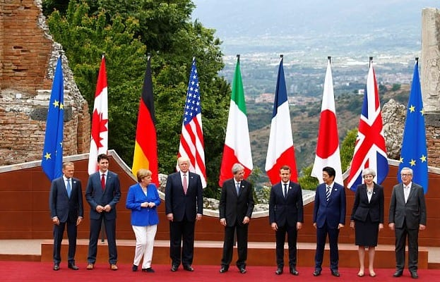 Trump Meets With G7 Leaders In Italy