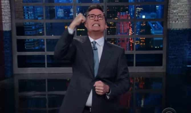 Colbert Trump And Rod Rosenstein Are The Same Person VIDEO