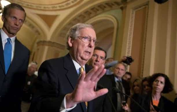 GOP Senators Leave For Recess Without Health Care Agreement