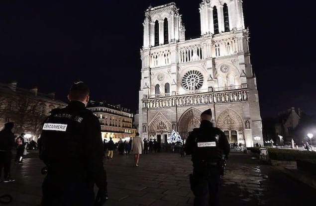 Notre Dame Assailant Shouted 'This Is for Syria' While Rushing Officer