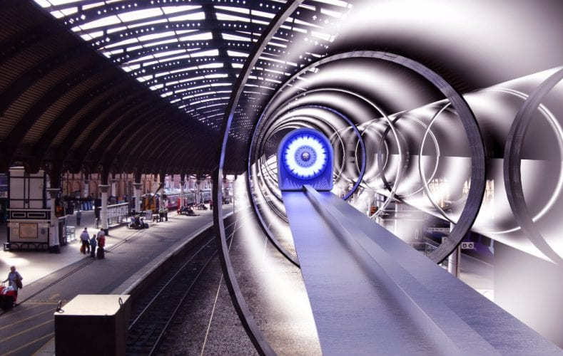 Elon Musk My NY D.C. Hyperloop Received Government Approval