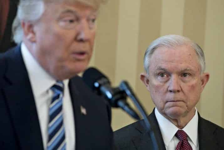 Trump Blasts 'Beleaguered' Sessions for Not Looking Into Hillary Emails