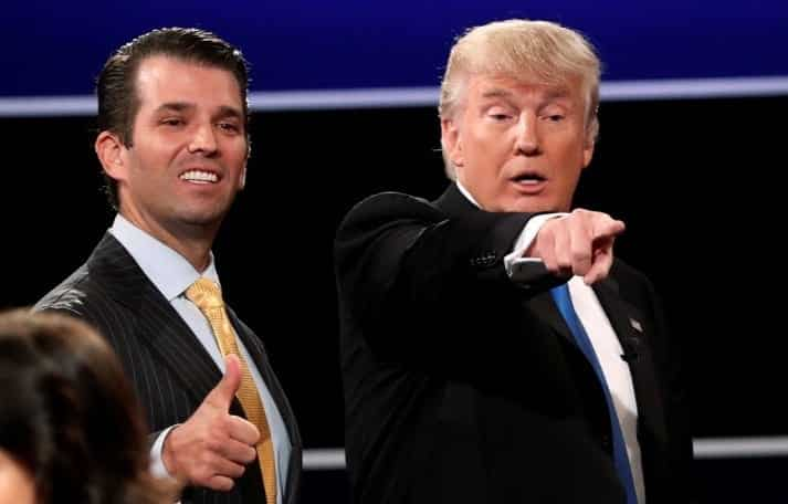 Trump Says Trump Jr.s Meeting With Russian Lawyer Was News To Him