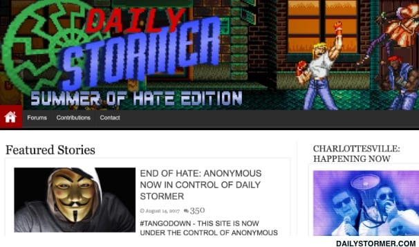 Anonymous Hackers We Didn't Take Down Daily Storm Site
