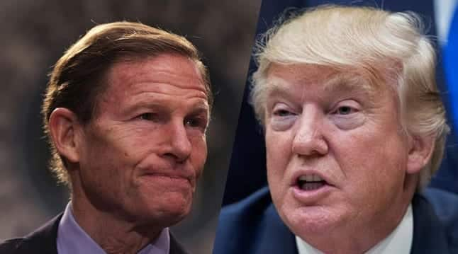 Blumenthal To Trump Your Bullying Tactics Wont Protect You In Russia Probe