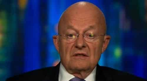 Former DNI Chief Clapper Questions Trump's 'Fitness' to Be President