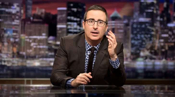 John Oliver Rips Trump For Refusing To Condemn Nazis VIDEO