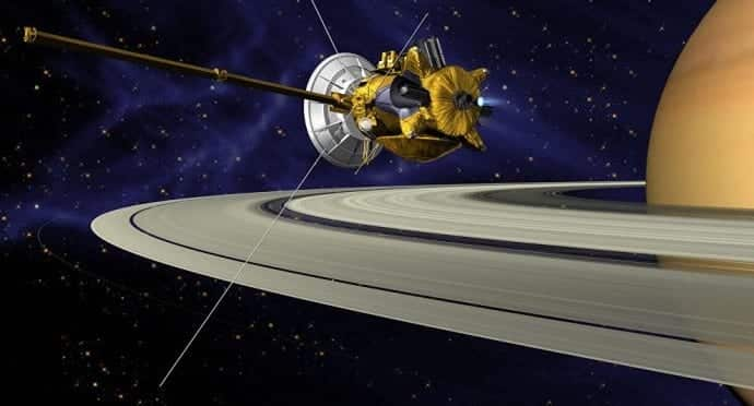 NASAs Cassini Spacecraft Ends 13 Year Exploration Of Saturn