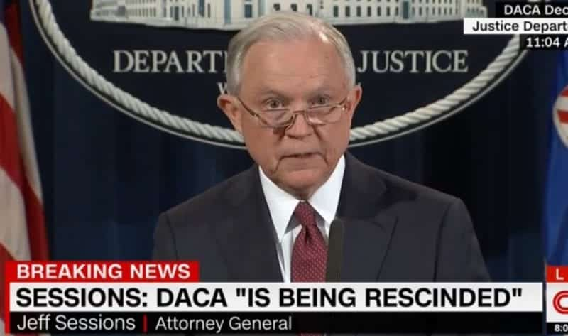 Sessions Announces DACA Program Is Being Rescinded