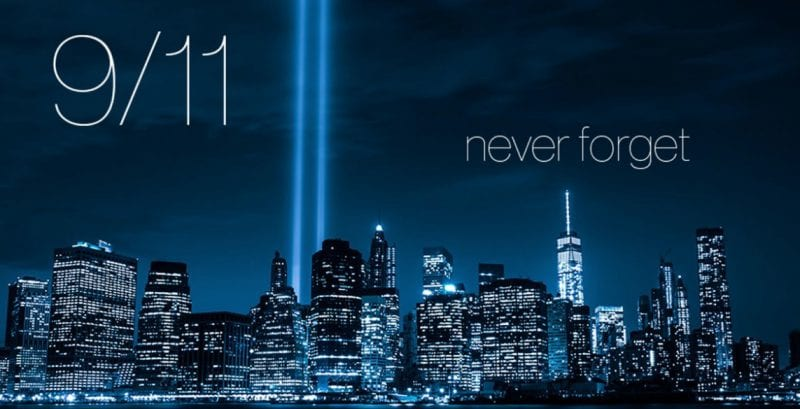 Thousands Gather For Anniversary Of 911 Terrorist Attacks