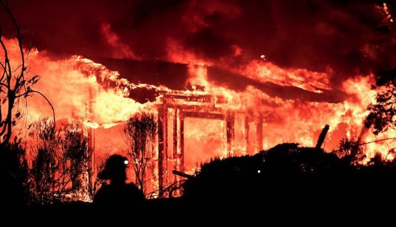 At Least 11 Dead Dozens Missing In Devastating Fires North Of SF