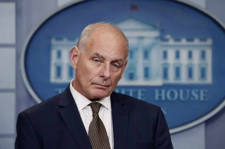 John Kelly Cheerfully Tells The Press Im Not Quitting Today