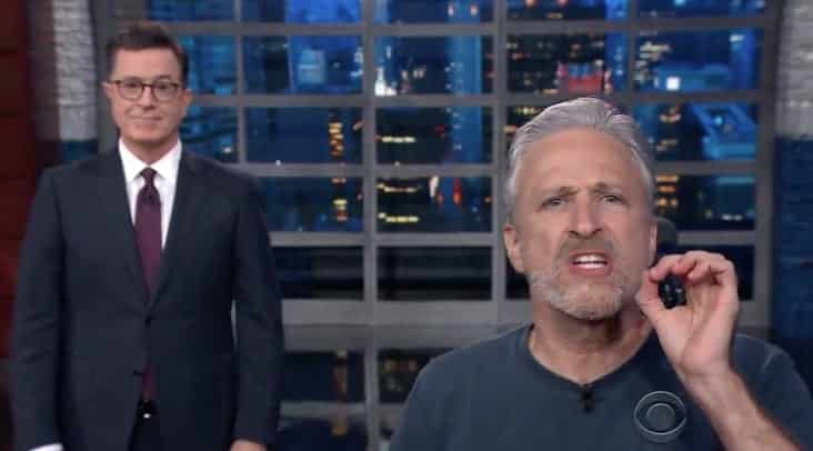 Stewart On 'Sociopath' Trump 'What The Fck Is Wrong With This Guy'